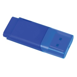 "USB flash-карта ""Osiel"" (8Гб),синий, 5,1х2,2х0,8см,пластик"
